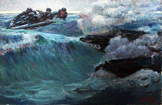 Men In Rowboat