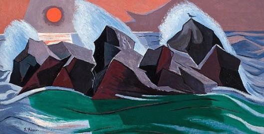 Monhegan Rocks - Rocky Shoreline