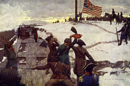 Raising Of The First American Flag, Somerville, Mass., January 1, 1776