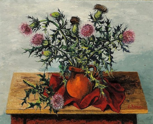 Still Life With Thistles