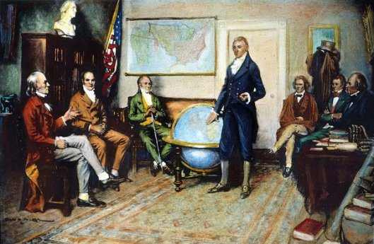 The Birth Of The Monroe Doctrine