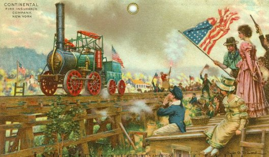 The First Locomotive In America