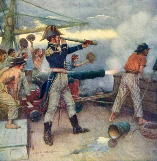 The First Shot In The War Of 1812