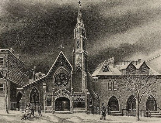 The Little Church Around The Corner - St. Michael's In Brooklyn