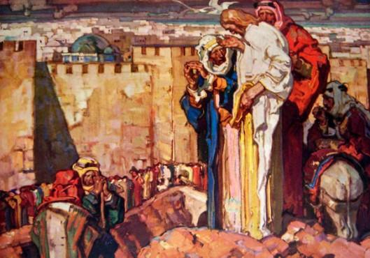 Weeping Over Jerusalem