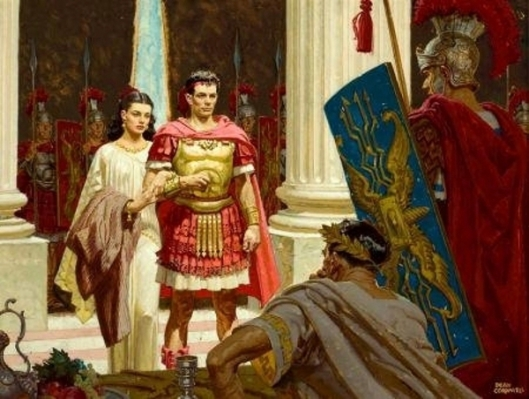 The Trial Of Marcellus And Diana Before Caligula