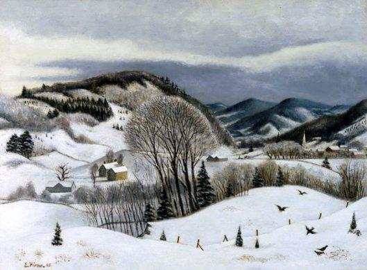 Winter Landscape, Connecticut