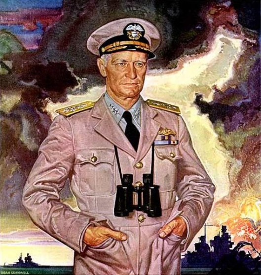 Admiral Nimitz Is Banking On You