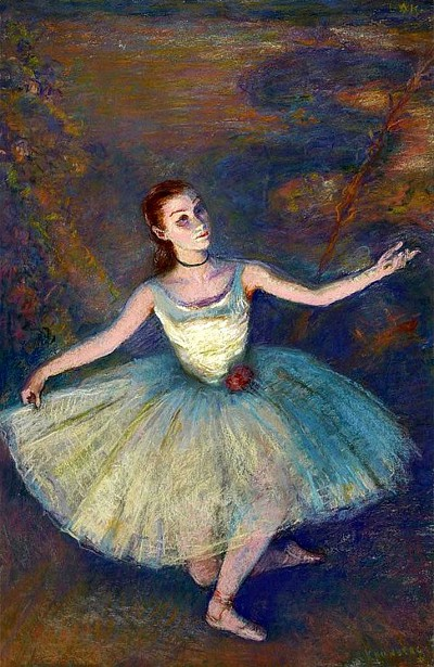 Ballerina, said to be Miss Francy Falk