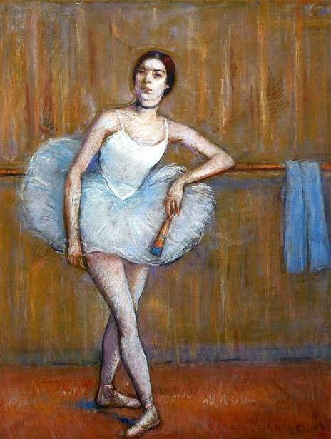 Ballerina, said to be Mlle Monin