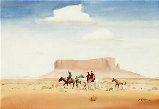 Desert Folk (Navajo)