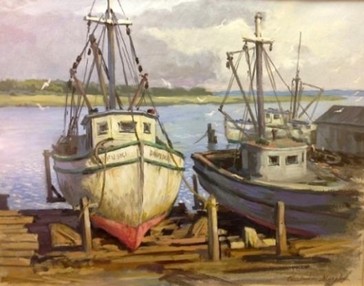 Dry Dock Rack At Thunderbolt, Georgia