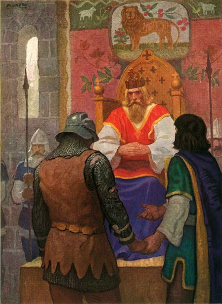 Legends Of Charlemagne 10 - Prince Leo Presents Rogero To Charlemagne