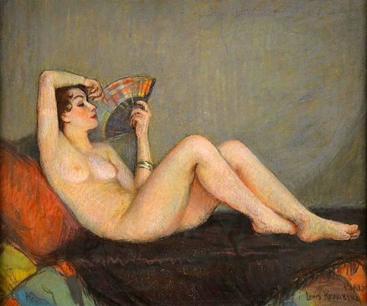 Reclining Nude - Ginette Rinaud