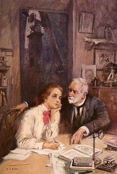 Sylvia And Professor Kelton