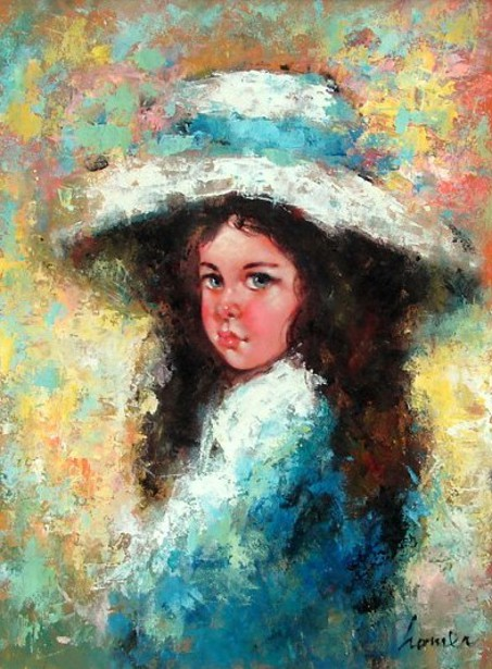 Young Girl With Bonnet