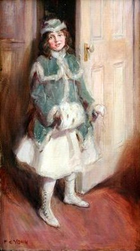 Young Lady With Muff