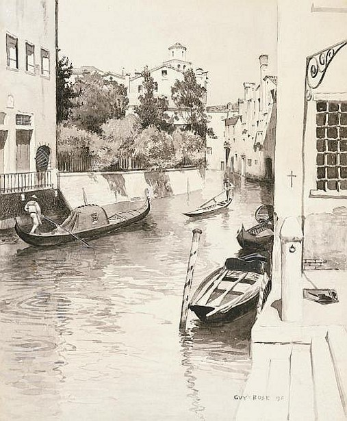 A Characteristic Venetian  Canal