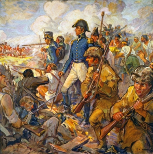 Andrew Jackson During The Battle Of New Orleans