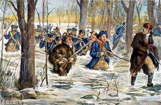 Clark's March To Vincennes