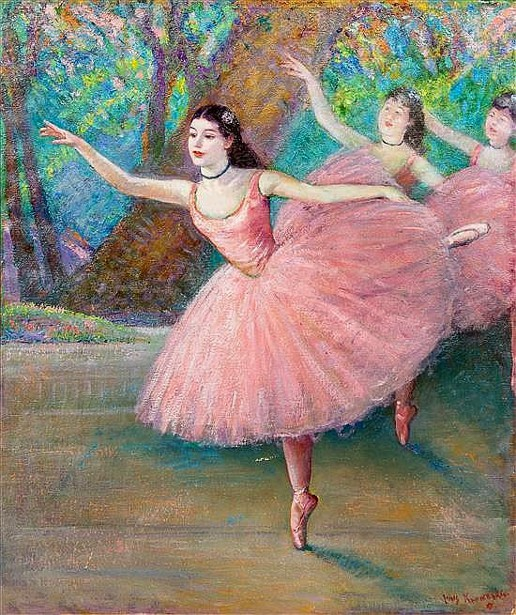 Dancers In Rose