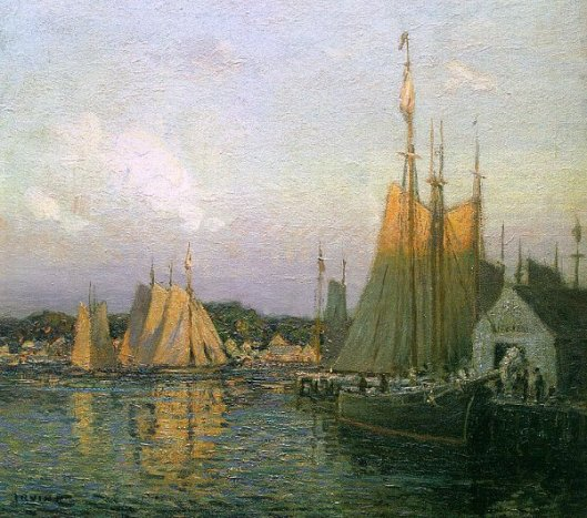 Evening In The Harbor