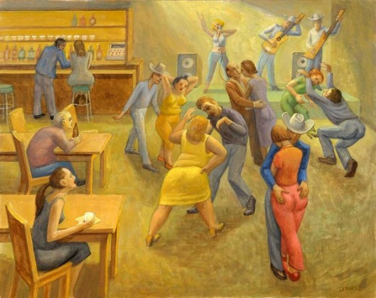 Lively Dance Hall
