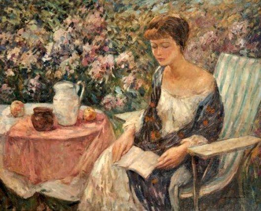 Lois In The Garden