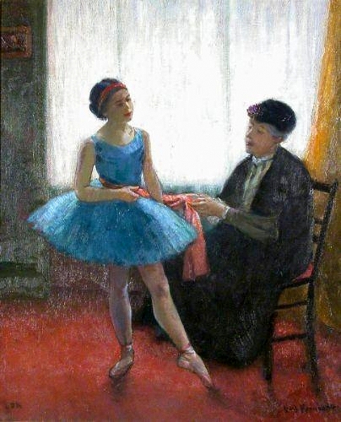 Preparing For The Dance - La Habilleuse