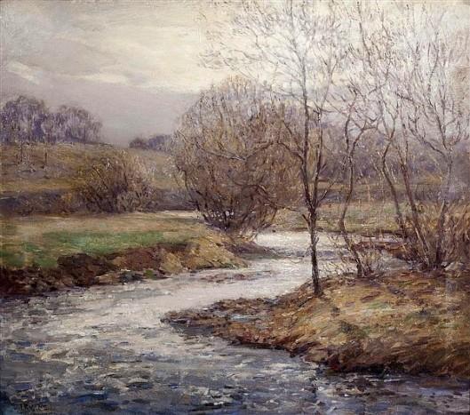 Stream In Winter