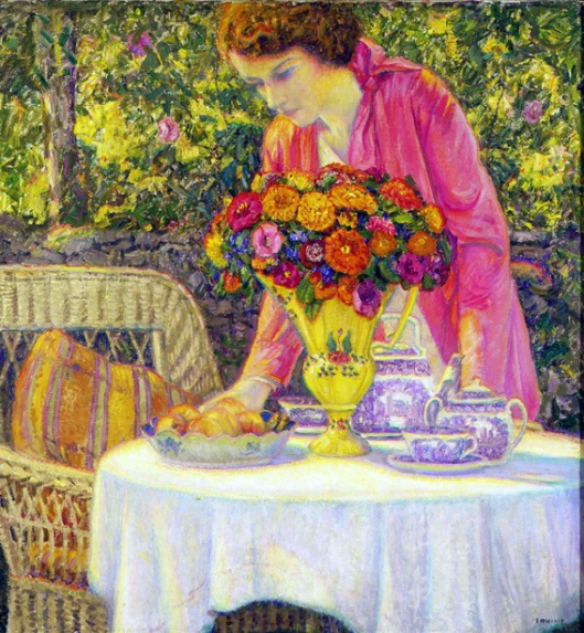 Tea Party With The Artist's Daughter, Lois