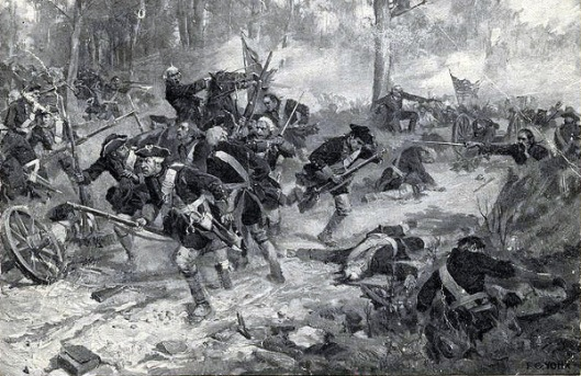 The Battle Of Eutaw Spring
