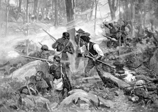 The Battle Of Kings Mountain