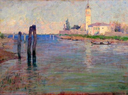 The Gondolier, Venice