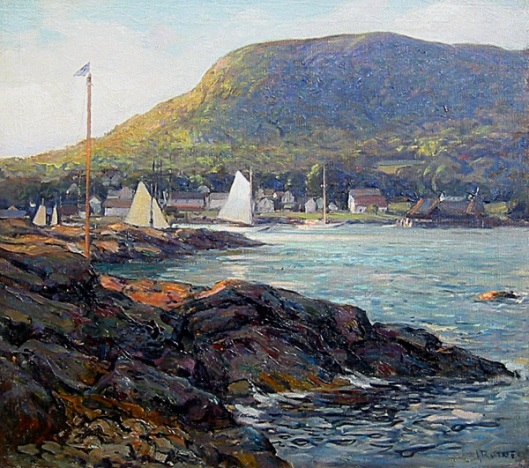 The Harbor At Camden, Maine