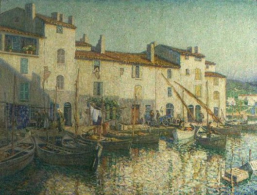 The Harbor At Martigues, France