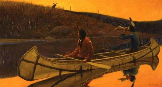 The Hunters (Chippewa Indians, Minnesota)