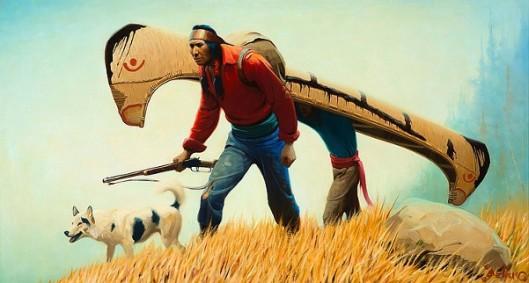 The Portage, Menominee Indians