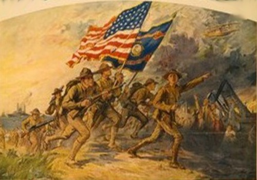 U.S.Marines - First To Fight In France For Freedom