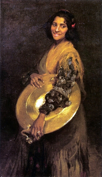 Andalusian Gypsy Girl
