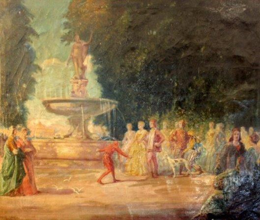 Fountain Scene
