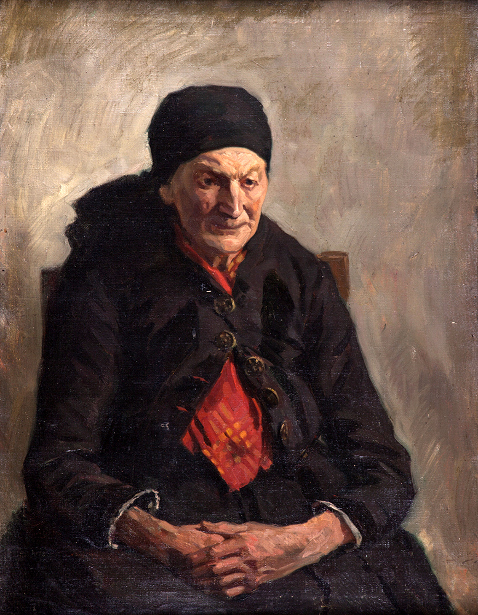 Older Woman Seated