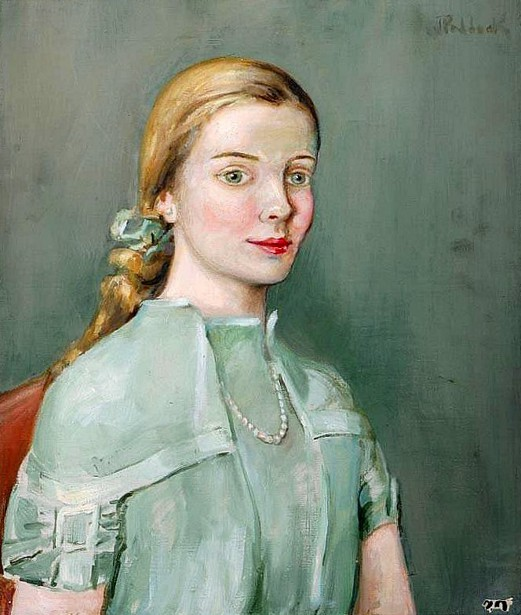 The Green Dress - Miss E. C.