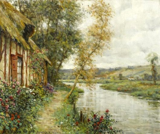 A Cottage By A River, Normandy
