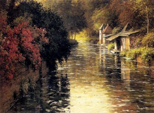 A French River Landscape