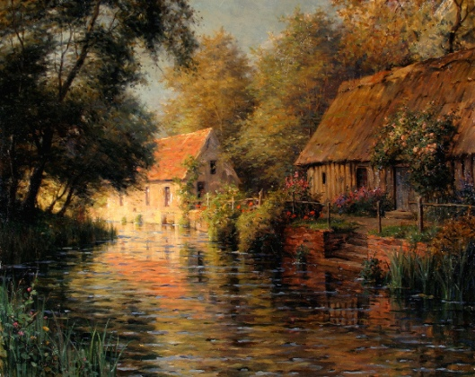 Along The River, Beaumont-le-Roger