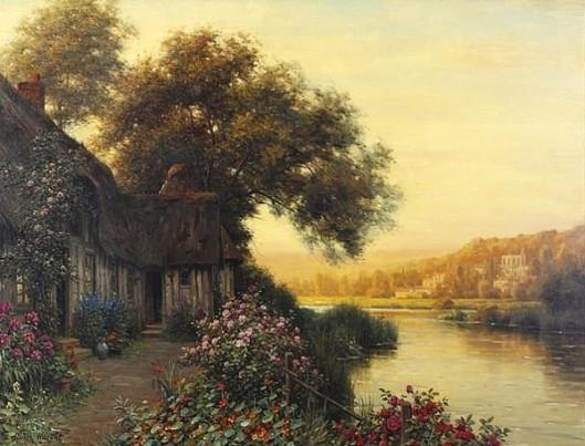 Diane's Cottage - Sunset Light