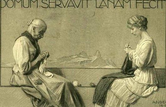 Domum Servavit Lanam Fecit