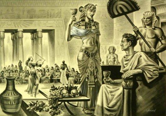 Egyptian Pharaoh Scene