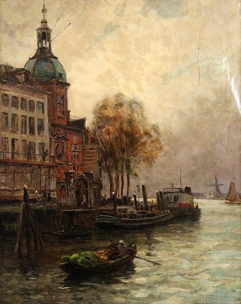 French River Scene